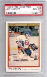 JEFF HACKETT .... GRADED .... PSA Gem Mint 10 ... OPC Premier RC