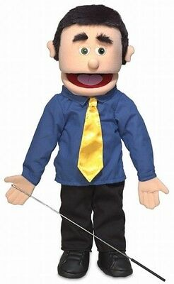 Silly Puppets George (Caucasian) 25 inch Full Body Puppet