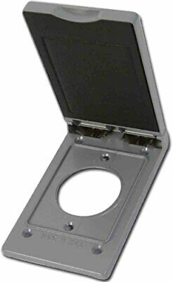 Greenfield C1.6vps Series Weatherproof Electrical Outlet Box Cover Gray