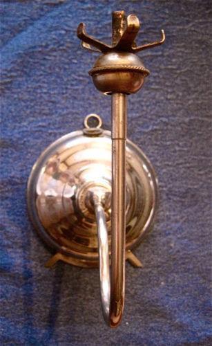 Antique Metal Oil Lamp Ebay