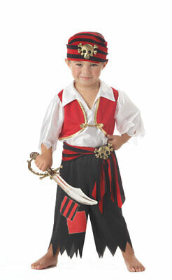 Child Ahoy Matey Costume for Halloween Size 4T-6T Large](Halloween Costumes For 4 Kids)