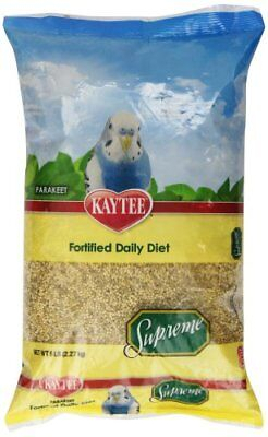 Kaytee Supreme Bird Food For Parakeets,5-Lb Bag