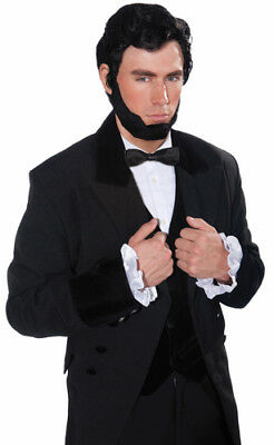 Lincoln Halloween Wig And Beard - Halloween Wigs And Beards