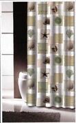 Beach Fabric Shower Curtain