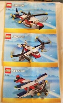31020 TWINBLADE ADVENTURES Lego Creator Age:7-12 Used, No Box, Complete