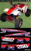 Honda TRX 250R Graphics