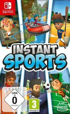 Instant Sports Nintendo Switch NSW Tennis Fußball Bowling Rafting Spiel Game