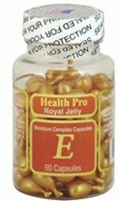 Nu Health Royal Jelly   Vitamin E Skin Oil Moisture Complex  90 Capsules