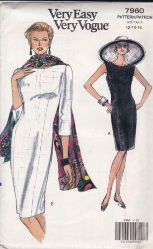 Vogue Dress Patterns Ebay