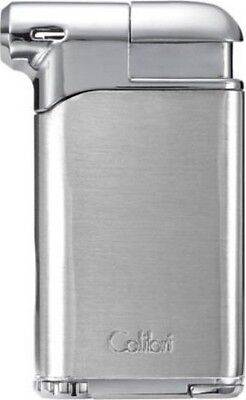COLIBRI PACIFIC AIR II ANGLED FLAME PIPE LIGHTER / CHROME **