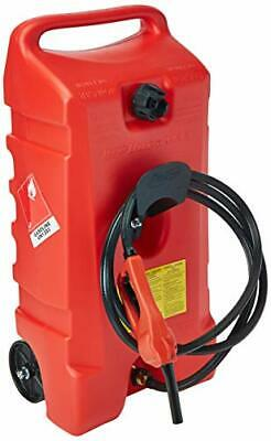 Duramax Flo N Go Le Fluid Transfer Pump And 14-gallon Rolling Gas Can
