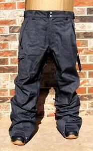 cf6992d35157 Mens Denim Snowboard Pants
