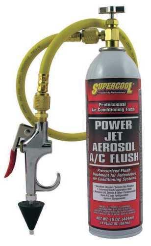 TSI SuperCool 27637 Power Jet Aerosol A/C Flush Kit 15 Oz.