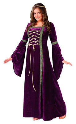 Renaissance Medieval Woman Halloween Costumes Plus Size](Plus Size Renaissance Halloween Costumes)