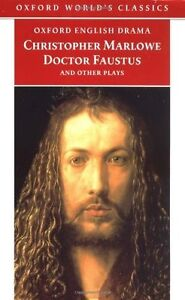 Christopher Marlowe-Doctor Faustus and Other Plays paperback