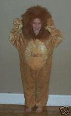 DISNEY STORE Lion King SIMBA Fancy Dress Kids Halloween COSTUME XS 4/5