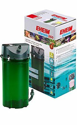 Eheim Classic 2213 Aquarium Canister Filter W/Media  (for up to 65 gallon tanks)
