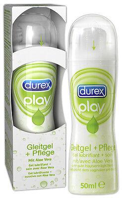 2 x Durex Play Gleitgel und Pflege 2 X 50 ml = 100 ml. mit Aloe Vera