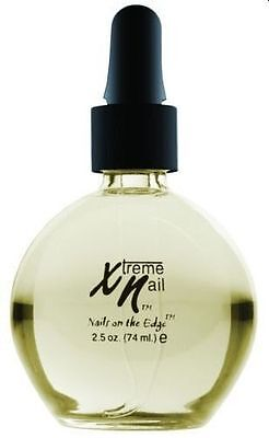 XTREME  2.5oz ALMOND CUTICLE OIL  CONDITIONING TREATMENT  ACRYLIC GEL