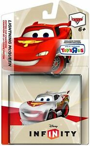 Disney Infinity TRU Exclusive Crystal Clear Cars McQueen