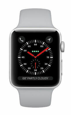 Apple Watch Series 3 42mm A1859 -  Silver GPS Bluetooth 16GB Mobile