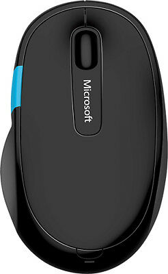 Microsoft - Sculpt Comfort Wireless Optical Mouse - Black
