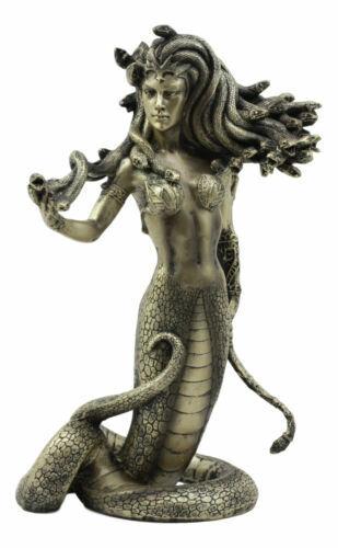 "Ebros Greek Mythology The Seductive Spell of Medusa Statue 8"" Tall"