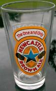 Newcastle Brown Ale Glass