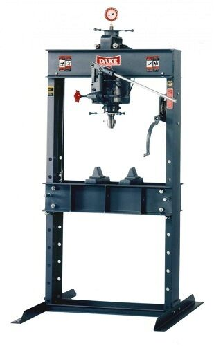 Brand New Dake  50h Hand Operated Hydraulic Press - 50 Ton