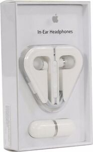 Apple In-Ear Headphones with Remote and Mic - White