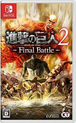 Ataque En Titan 2 -final Battle Interruptor