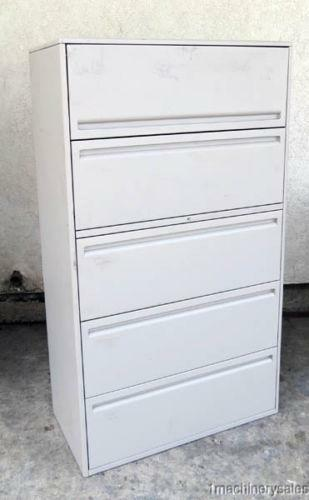 Beautiful Steelcase 5 Drawer Vertical File Cabinet