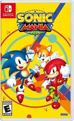 Sonic Mania Plus For Nintendo Switch  New Switch