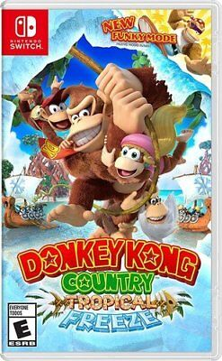 DONKEY KONG COUNTRY TROPICAL FREEZE * NINTENDO SWITCH * BRAND NEW * USA VER