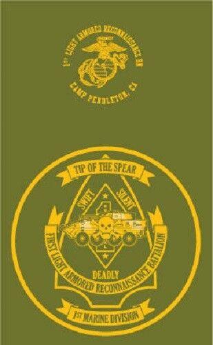 Marine Corps 1st Light Armored Reconnaissance Battalion Camp