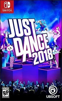 Just Dance 2018 For Nintendo Switch Console Brand New Ships Fast