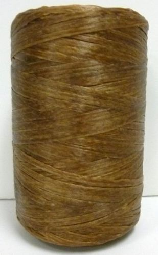 SINEW / Sinue leather thread beading crafts BROWN