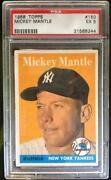 1958 Topps Mickey Mantle #150 PSA