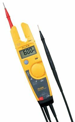 New Fluke T5600 Electrical Voltage Continuity And Current Tester - T5-600