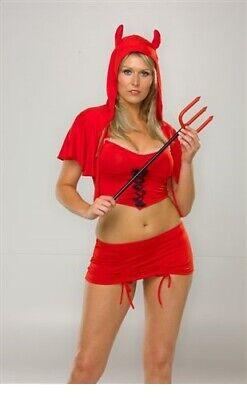 Sexy Devilish Desires Red Devil Valentines Ladies Womens - Sexy Valentines Kostüme