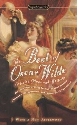 The Best of Oscar Wilde Selected Plays and Writings [New Book] Paperback,