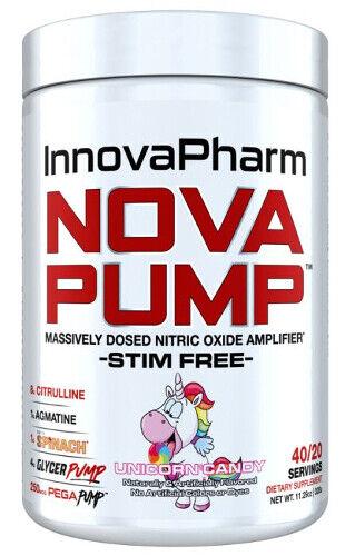 INNOVAPHARM NOVA PUMP (20 SERVINGS) nitric oxide stim free preworkout enduralean