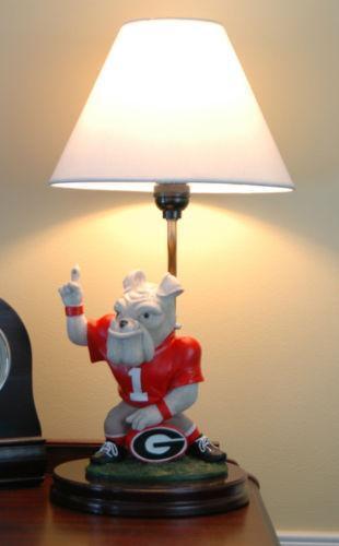 Georgia Bulldogs Lamp Ebay