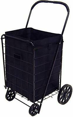 Laundry Grocery Cart Liner Folding Shopping Square Bottom For Large Jumbo Carts