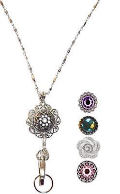 Snap Jewelry Lanyard - Fashion Women's Lanyard - Super Strong - 34