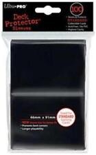 100 x Ultra Pro Full-Size Large Card BLACK SLEEVES Deck Protectors Magic Pokemon
