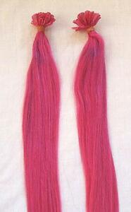 Pink hair extensions ebay pink human hair extensions pmusecretfo Image collections