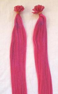 Pink hair extensions ebay pink human hair extensions pmusecretfo Choice Image