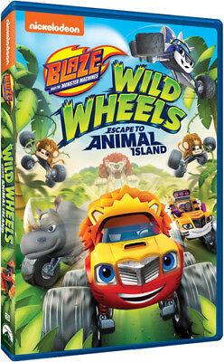 Blaze And The Monster Machines: Wild Wheels Escape To Animal Island [New DVD]](Blaze Movie)
