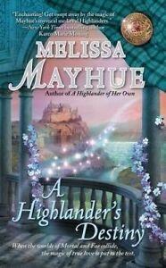 A Highlander's Destiny by Mayhue, Melissa -Paperback